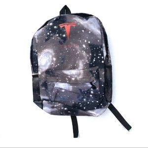 Other - Tesla Galaxy Print Backpack